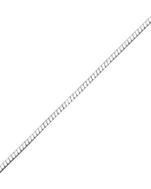 DÁMSKÝ STŘÍBRNÝ ŘETÍZEK - HAD 45cm, Ag925/1000, 1,95g